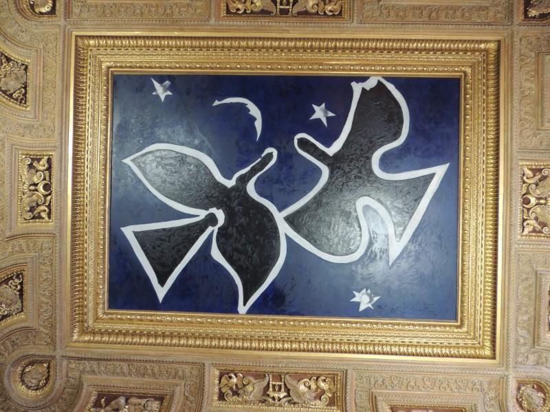 Georges Braque, Les Oiseaux (détail), 1953, musée du Louvre