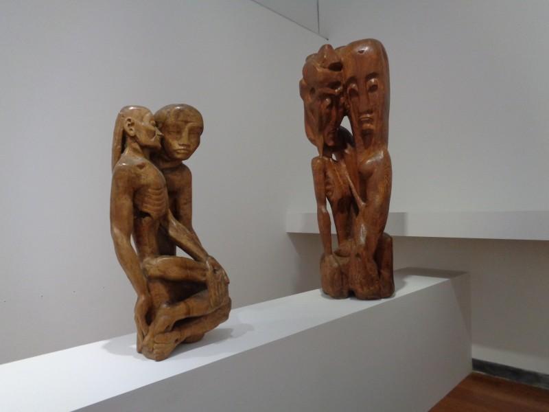 Etienne-Martin, Pietà, 1944 (achat, 2008), Pietà idole 1944-45 (dépôt, 2015)