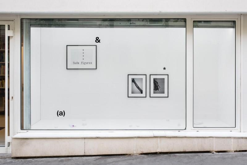 Vue de la vitrine Jeux de langage, frac île-de-france, le plateau, Paris, septembre 2015 © Photo : Martin Argyroglo. Courtoisie du frac