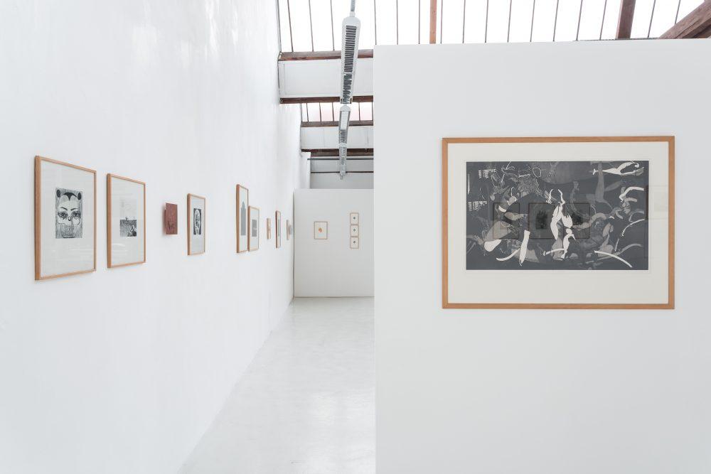 vue de l'exposition Éloge de l'incision, gravures en creux © Photo : Jules Roeser. Courtoisie de l'URDLA